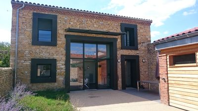 Photo for superb architect house in the heart of Auvergne, 30 minutes from the slopes