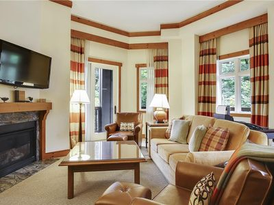 Photo for Desirable 3 Bedroom unit at Stowe Mountain Lodge, great views and large deck, we