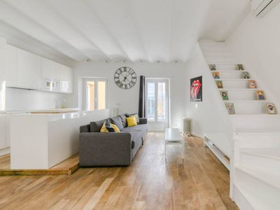Photo for Large and modern flat in the heart of Nice