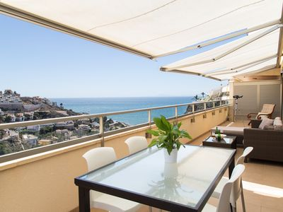 Photo for Bright ✪ ✪ penthouse with sea views