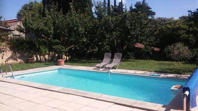 Photo for 5 minutes from Avignon, independent accommodation for 6 people with swimming pool