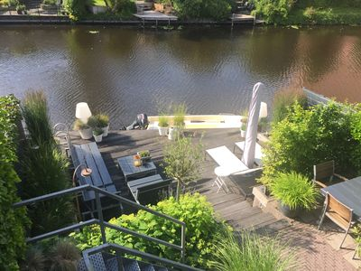 Photo for Lovely Riverside Studio incl Bikes and parking