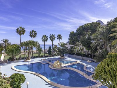 Photo for TROND,  Paraiso Mar apartments in first line of the beach of Calpe, for 5 guests