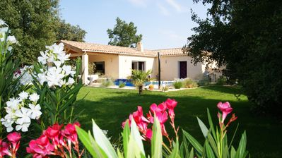 Photo for Beautiful Villa with garden and private pool for 6 people