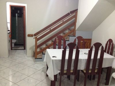 Photo for 2 bedroom duplex house close to the BEACH with air conditioning, Wi-Fi and garage.