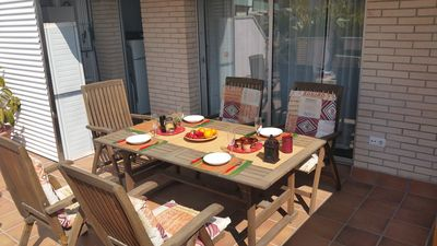 Photo for 2BR Apartment Vacation Rental in cubelles