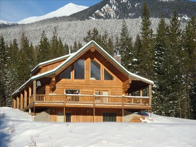 Photo for Cozy Log Cabin in the Rockies! Secure, Private & Comfortable. Call (403)228-2024
