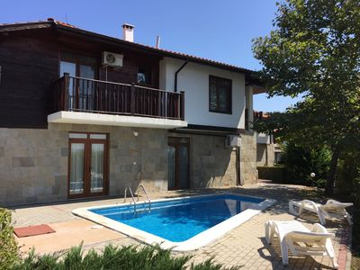 Photo for Hill Top Villa near to Sunny Beach with 4 Bedrooms, Private Pool and WIFI