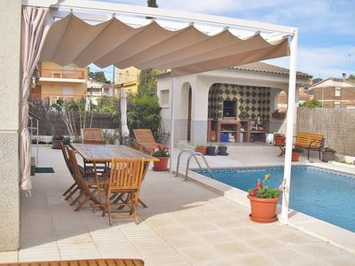 Photo for Holiday apartment with free wifi and private pool in Calafell, Costa Dorada – CD376