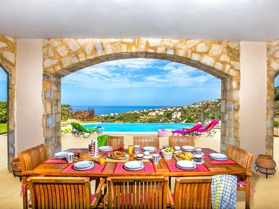 Photo for Stunning villa located a 5 minute drive from the picturesque Almyrida beach