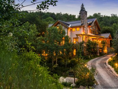 Photo for Elk Meadows- 5 bedroom Timber Frame Lodge- Secluded, Panoramic Views