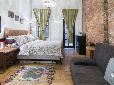 Photo for CHARMING Studio-Loft Apt WALKING DISTANCE FROM SOHO/BROADWAY/NYU