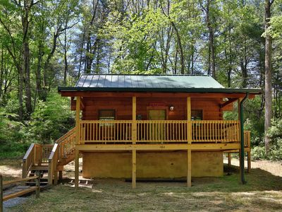 Photo for Green Door Cabin - a new cabin getaway in Townsend