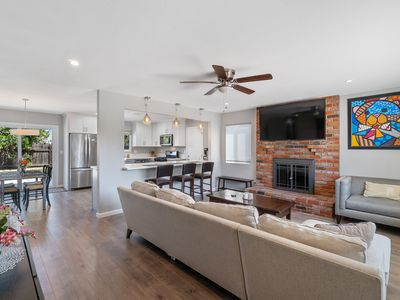 Photo for Modern & bright home in North San Diego w/ new appliances & a patio!