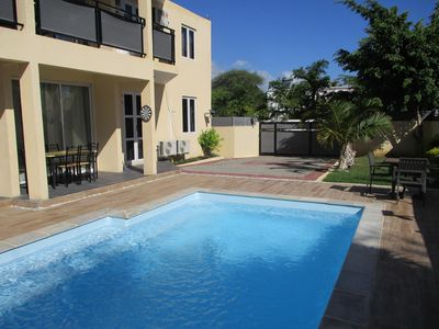 Photo for 3 3 bedroom apartments in Villa with Pool, all comfort