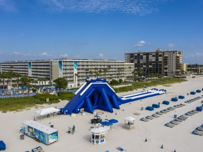 Photo for Tradewinds, Florida's St Pete Beach, Gulf Front View, 1 Bedroom Suite