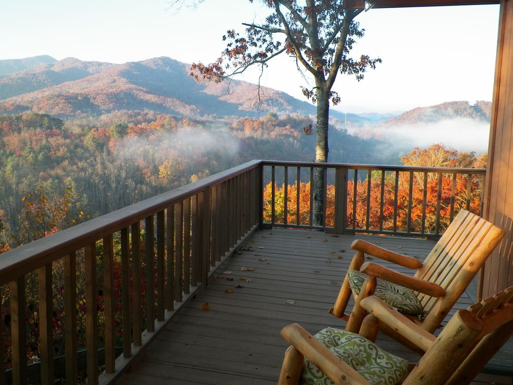 Fantastic Smoky Mtn Views Cozy Quiet Cabi Vrbo
