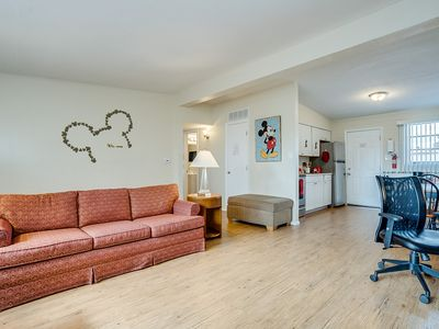 Photo for Retro Central Phoenix cartoon-fun condo with luxury comfort beds for 9