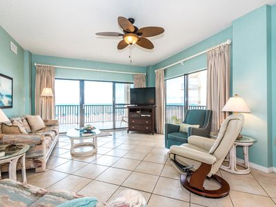 Photo for The Palms 316-- Luxury Gulf Front Condo at The Palms w/ Wrap Around Balcony
