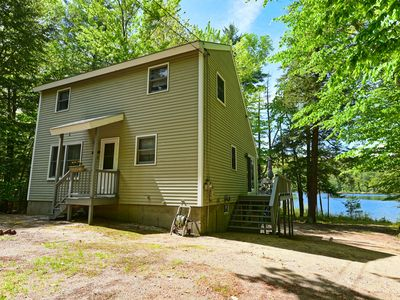 Photo for Beautiful Waterfront Home w/ Canoe & 1 Person Kayak. Close to North Conway