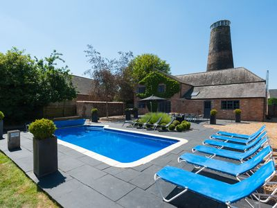 Photo for Last Summer dates: Aug 21-24 Detached Windmill with Pool