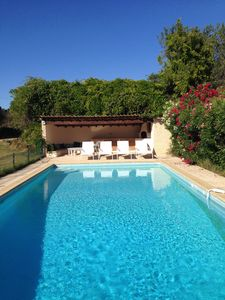 Photo for Provencal villa with swimming pool in the Var near the Castellet circuit