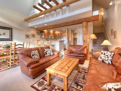 Photo for Best Ski-in/out in Saddle Ridge, Unit E3, Closest 2 BR to Iron Horse Lift