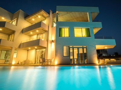 Photo for Unit 2 - Amarilla Golf Villas - luxury 3 bed with large terrace and sea views