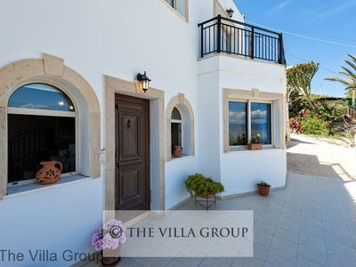 Photo for 6 bedroom villa consisting of two 3 bedroom villas sleeping up to 10 located in Neo Chorio