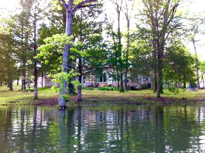 Photo for Tablerock Lake Home on 3 acres, easy access to Silver Dollar City & shopping