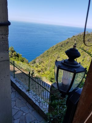 Photo for Sea view apartment in the Cinque Terre Park - La Spezia