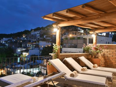 Photo for Luxury Downtown Villa - Private Rooftop Pool - Ocean Views