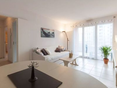 Photo for Beautiful seaside  apartment with wifi and garage!