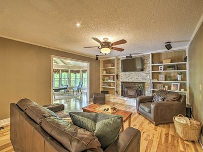 Photo for NEW-Beaver Lake Home w/Deck&Firepit-Steps to Shore