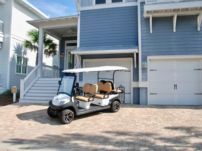 Photo for Gorgeous 30A Home with Golf Cart and Stunning Community Pool