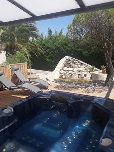 Photo for Le Mas Blanc quiet guest house with jacuzzi and private terrace