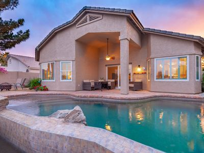 Photo for Charming Lakefront Property in Chandler w Pool