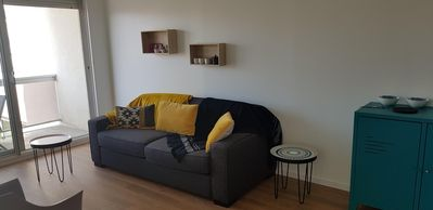 Photo for Apartment on the port of Arcachon renovated.