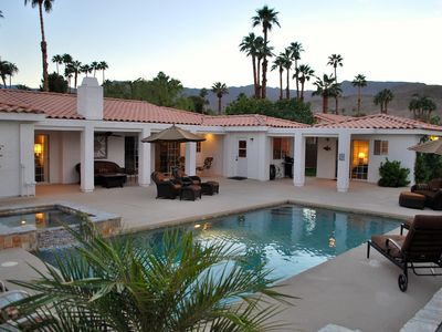 Photo for Desirable South Palm Desert Private Home with Salt Pool & Spa & Casita