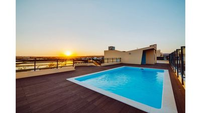 Photo for Marina Olhao Apartment, great terrace with sea view, pool