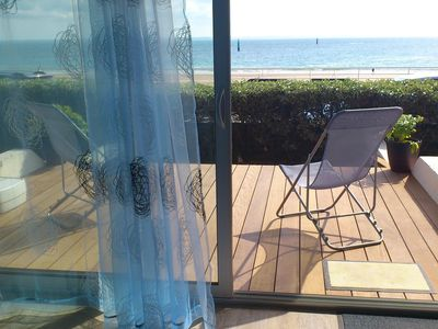 Photo for QUIBERON - GD STUDIO STANDING / 2 pers / terraces FACE to the SEA (Bld CHANARD) P