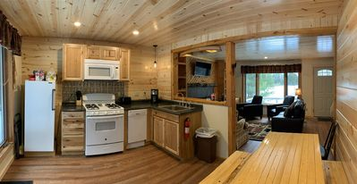 Photo for Cozy cabin in the woods along Pictured Rocks National Lakeshore Park