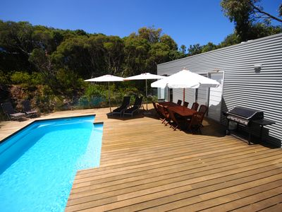 Photo for Luxury holiday home next to the national park with pool