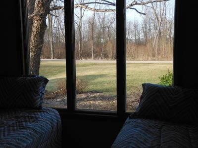 View from Front Bedroom Roadside / Nature Preserve