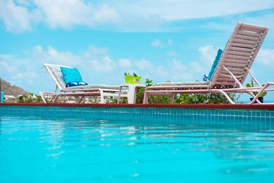 Welcome home!  Private Pool side relaxation as you enjoy the ocean breeze!