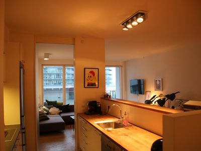 Photo for Clean 3 bedroom apartment in central Copehagen by the harbor.