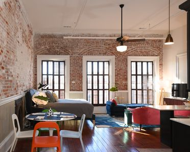 Photo for Beautiful, Historic Studio Loft Downtown on The Strand at Hendley Market!