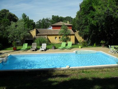 Photo for HOUSE IN PROVENCE WITH SWIMMING POOL IN THE HILL IN THE ISLE ON THE SORGUE