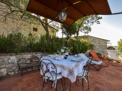 Photo for Vacation home Casa Val d'Orcia in Castiglione d'Orcia - 5 persons, 2 bedrooms
