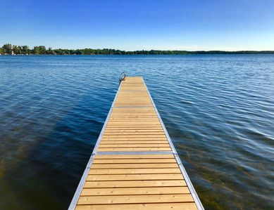 Photo for Amazing lake cabin on Lake Melissa -  Just steps away from the water